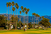 Shoreline Park, Santa Barbara, California USA.