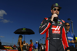 November 19, 2017 - Homestead, Florida, United States of America - November 19, 2017 - Homestead, Florida, USA: Kurt Busch (41) hangs out on the grid before the Ford EcoBoost 400 at Homestead-Miami Speedway in Homestead, Florida. (Credit Image: © Chris Owens Asp Inc/ASP via ZUMA Wire)