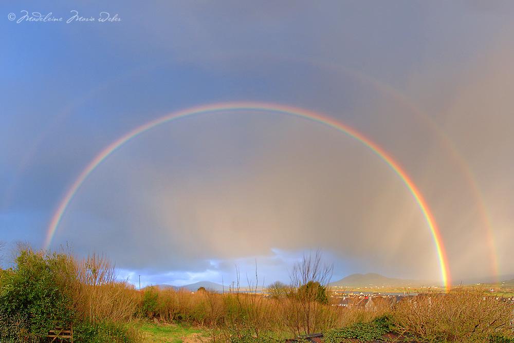 Double Rainbow over Cahersiveen, Co. Kerry / rb008