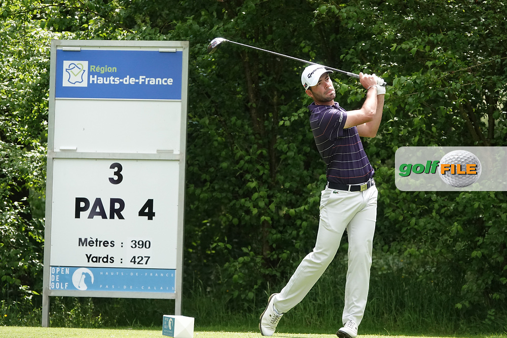 Robin Roussel (FRA) in action during the third round of the Hauts de France-Pas de Calais Golf Open, Aa Saint-Omer GC, Saint- Omer, France. 15/06/2019<br /> Picture: Golffile   Phil Inglis<br /> <br /> <br /> All photo usage must carry mandatory copyright credit (© Golffile   Phil Inglis)