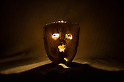 Mascara ancestral del Carnaval.