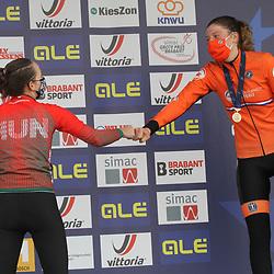 08-11-2020: Wielrennen: EK Veldrijden: Rosmalen: Blanka Vas: Manon Bakker