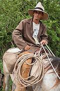Cowboy on a ranch near Trinidad, Cuba