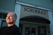Owner Brian Mundy poses for a portrait at Schurra's in San Jose, California, on November 19, 2014. (Stan Olszewski/SOSKIphoto for Content Magazine)