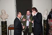 DEREK MORRIS; MARTY CARROLL; JULIAN LLOYD WEBBER, Founding Fellows 2010 Award Ceremony. Foundling Museum on Monday  8 March