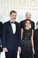 121718 Spanish Royals Attends 'Mariano De Cavia' Journalism Awards