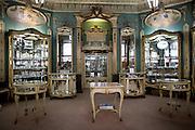Ourivesaria Aliança, one of the oldest jewelery of Lisbon, located at Rua Garrett, in the Chiado district.