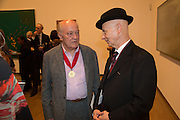 MAURICE COCKRILL; DAVID REMFRY, Gala Opening of RA Now. Royal Academy of Arts,  8 October 2012.
