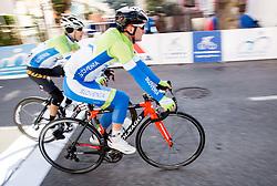 LAVRIČ Martin (SLO) of Slovenian National Team and POLANC Jan (SLO) of Slovenian National Team during the UCI Class 1.2 professional race 4th Grand Prix Izola, on February 26, 2017 in Izola / Isola, Slovenia. Photo by Vid Ponikvar / Sportida