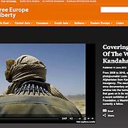 Feature on Radio Free Europe on work in Kandahar.