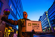 Ocean Avengers Demand EU Prime Ministers End Overfishing. Poseidon, god of the sea, Captain Science, Climate X, Citizen Fish and Lady Justice arrive in Brussels to ask EU Prime Ministers - meeting at EU Council - to put fisheries ministers on track ahead of next week's AGRIFISH meeting. Fisheries ministers are expected to agree fishing beyond scientific limits, in contravention of the reformed common fisheries policy.