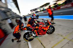 May 18, 2018 - Le Mans, France - 97 XAVI VIERGE (ESP) DYNAVOLT INTACT GP (ESP) KALEX MOTO2 (Credit Image: © Panoramic via ZUMA Press)