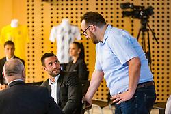 Bojan Jokic and Matej Orazem during NZS Draw for season 2019/20, on June 21, 2019 in Celje, Maribor, Slovenia. Photo by Ziga Zupan / Sportida
