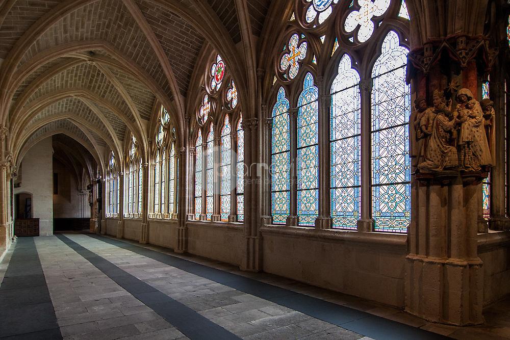 Catedral de Burgos. Interior clausto. Castilla y León, España. Europa ©Javier Abad / PILAR REVILLA