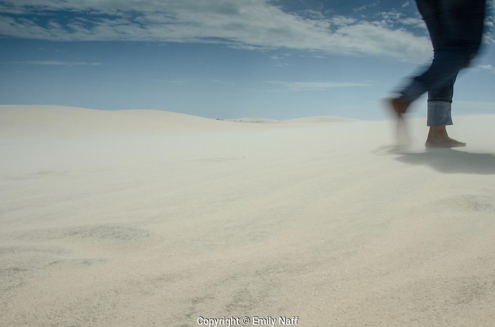 Shifting sands of Jericoacoara, Brazil.