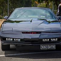 Replica of KITT from Knight Rider.