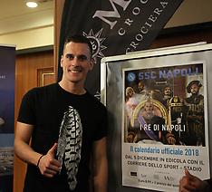 Presentation of SSC Napoli Calendar - 04 Dec 2017