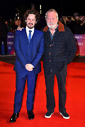 Edgar Wright and Terry Gilliam arriving for the 62nd BFI London Film Festival Opening Night Gala screening of Widows held at Odeon Leicester Square, London.
