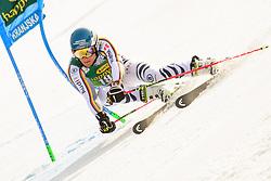 March 9, 2019 - Kranjska Gora, Kranjska Gora, Slovenia - Alexander Schmid of Germany in action during Audi FIS Ski World Cup Vitranc on March 8, 2019 in Kranjska Gora, Slovenia. (Credit Image: © Rok Rakun/Pacific Press via ZUMA Wire)