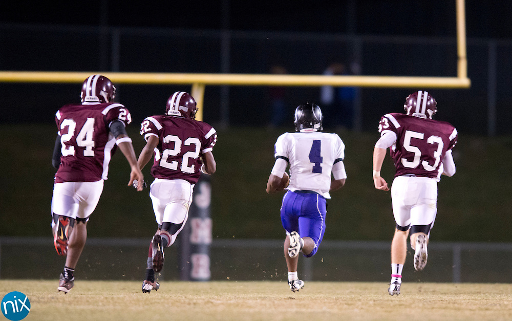 Cox Mill against Jay M. Robinson Friday night at Jay M. Robinson High School n Concord. (Photo by James Nix)