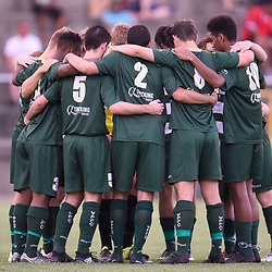 BRISBANE, AUSTRALIA - JANUARY 13:  during the Logan Inter City Cup match between Logan FC and Western Pride on January 13, 2018 in Brisbane, Australia. (Photo by Patrick Kearney)
