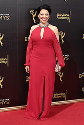 .Kathleen Gati  attends  2016 Creative Arts Emmy Awards - Day 2 at  Microsoft Theater on September 11th, 2016  in Los Angeles, California.Photo:Tony Lowe/Globephotos