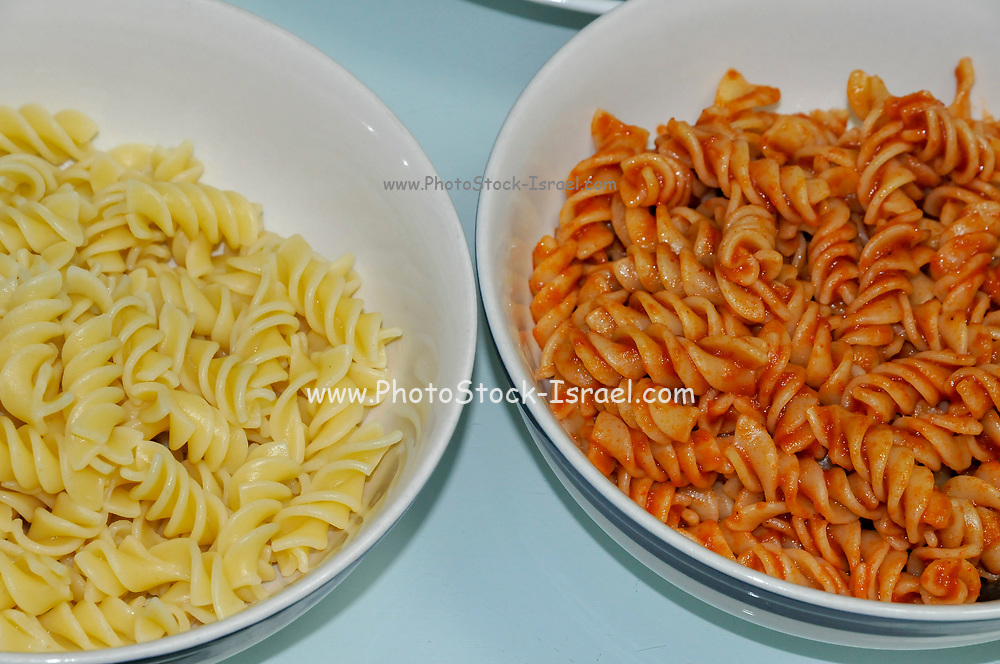 A plate of home made pasta