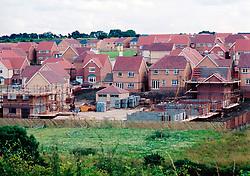 New build houses on greenbelt site Harrogate Yorkshire UK