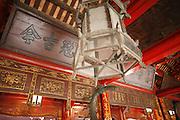 "Hanoi, Vietnam. March 11th 2007..Inside ""Van Mieu"", the Literature Temple."