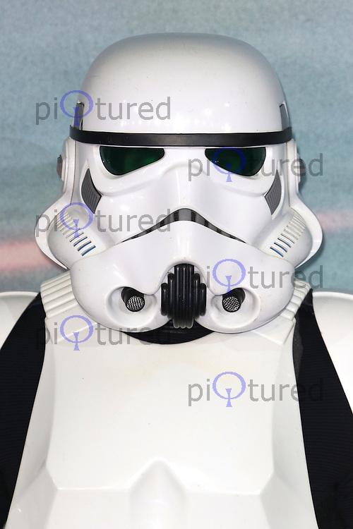 Stormtrooper, Rogue One: A Star Wars Story, Tate Modern, London UK, 13 December 2016, Photo by Richard Goldschmidt
