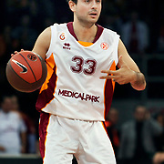 Galatasaray's Ender ARSLAN during their Euroleague group D matchday 5 Galatasaray between  FC Barcelona Regal at the Abdi Ipekci Arena in Istanbul at Turkey on Thursday, November 17 2011. Photo by TURKPIX