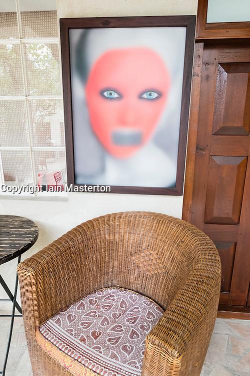 XVA hotel and art gallery in Bastakiya old district of Bur Dubai in United Arab Emirates
