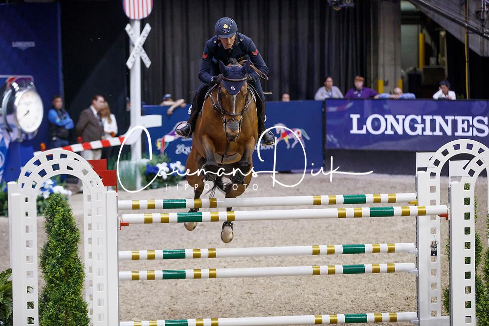 De Luca Lorenzo, ITA, Ensor de Litrange Lxii<br /> Round 2<br /> Longines FEI World Cup Jumping, Omaha 2017 <br /> © Hippo Foto - Dirk Caremans<br /> 01/04/2017