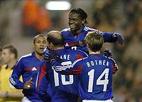 Fotball<br /> Treningskamp<br /> Belgia v Frankrike<br /> 18.02.2004<br /> Foto: Digitalsport<br /> Norway Only<br /> <br /> LOUIS SAHA