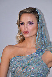 Natasha Poly attends the amfAR Cannes Gala 2019 at Hotel du Cap-Eden-Roc on May 23, 2019 in Cap d'Antibes, France. Photo by Lionel Hahn/ABACAPRESS.COM