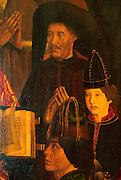 PORTUGAL, LISBON, MUSEUM Henry the Navigator on altarpiece