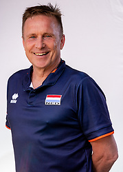 Ass. coach Han Abbing of Netherlands, Photoshoot selection of Orange women's youth volleybal team season 2021on june 15, 2021 in Arnhem, Netherlands (Photo by RHF Agency/Ronald Hoogendoorn)