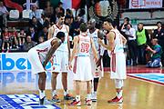 DESCRIZIONE : Varese Lega A 2012-13 Cimberio Varese Enel Brindisi <br /> GIOCATORE : Cimberio Varese<br /> CATEGORIA :   FAIR PLAY<br /> SQUADRA : Cimberio Varese<br /> EVENTO : Campionato Lega A 2013-2014<br /> GARA : Cimberio Varese Enel Brindisi<br /> DATA : 17/11/2013<br /> SPORT : Pallacanestro <br /> AUTORE : Agenzia Ciamillo-Castoria/I.Mancini<br /> Galleria : Lega Basket A 2013-2014  <br /> Fotonotizia : Varese Lega A 2013-2014 Cimberio Varese Enel Brindisi<br /> Predefinita :