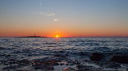 THEMENBILD - URLAUB IN KROATIEN, Sonneuntergang, aufgenommen am 03.07.2014 in Porec, Kroatien // sunset at Porec, Croatia on 2014/07/03. EXPA Pictures © 2014, PhotoCredit: EXPA/ JFK