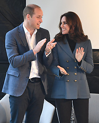 The Duke and Duchess of Cambridge and Prince Harry attend the graduation ceremony for more than 150 Coach Core apprentices at The London Stadium, London, UK, on the 18th October 2017. 18 Oct 2017 Pictured: The Duke and Duchess of Cambridge and Prince Harry attend the graduation ceremony for more than 150 Coach Core apprentices at The London Stadium, London, UK, on the 18th October 2017. Picture by James Whatling. Photo credit: James Whatling / MEGA TheMegaAgency.com +1 888 505 6342