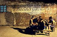 Dominoes in Bayamo, Granma, Cuba.