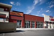 .The future location of Aroma in El Paso Texas on Sunday morning, Oct. 11, 2009..