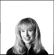 Headline:Writer E Jean Carroll. Photographed by Brian Smale for Elle Magazine.