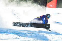 Mirko Felicetti (ITA) during parallel giant slalom FIS Snowboard Alpine world championships 2021 on 1st of March 2021 on Rogla, Slovenia, Slovenia. Photo by Grega Valancic / Sportida