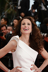 May 18, 2019 - Cannes, France - CANNES, FRANCE - MAY 18: Andie MacDowell attends the screening of ''Les Plus Belles Annees D'Une Vie'' during the 72nd annual Cannes Film Festival on May 18, 2019 in Cannes, France. (Credit Image: © Frederick InjimbertZUMA Wire)