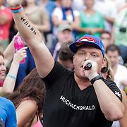 NLD/Amsterdam/20120804 - Canalparade tijdens de Gaypride 2012, DJ Tony Star, Sterretje, Tony Wyczynski