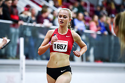 David Hemery Valentine Invitational<br /> Indoor Track & Field at Boston University , womens 3000 meters, heat 1,  , Bowerman TC, Nike, Vanessa Fraser, , Nike,