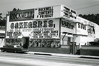 1973 Gazzarri's Nightclub on the Sunset Strip
