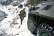 US Army Special Forces with Bosnian Serb army and Turkish Army in Bosnia.