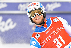 13.11.2016, Black Race Course, Levi, FIN, FIS Weltcup Ski Alpin, Levi, Slalom, Herren, 2. Lauf, im Bild Marc Gini (SUI) // Marc Gini of Switzerland  reacts after his 2nd run of mens Slalom of FIS ski alpine world cup at the Black Race Course in Levi, Finland on 2016/11/13. EXPA Pictures © 2016, PhotoCredit: EXPA/ Nisse Schmidt<br /> <br /> *****ATTENTION - OUT of SWE*****